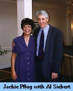 [ Photo of Jackie Pflug and Al Siebert ]