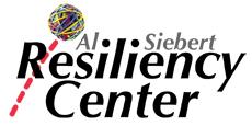 Al Siebert Resiliency Center web nameplate